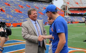 UF Online First Chomp in The Swamp-Jackson and Gators Coach McElwain