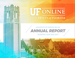 UF Online Annual Report Cover