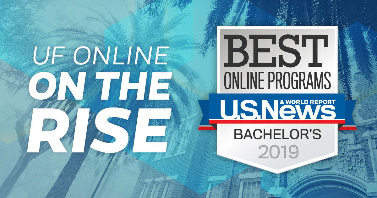 UF Online on the Rise: #12 Best Online Bachelor's Programs