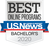 Best Online Programs Bachelor's 2020 Badge