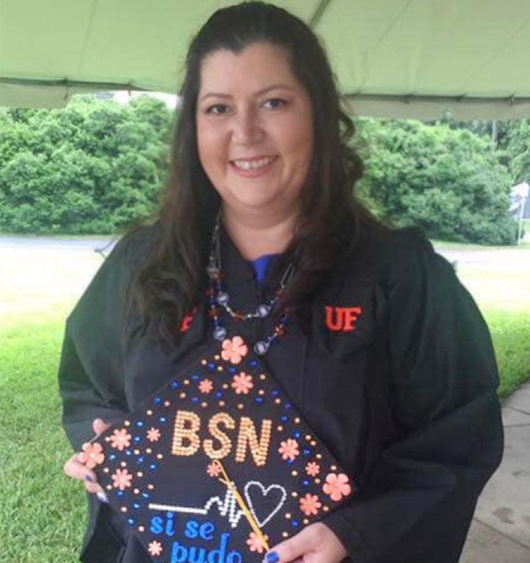 Amelia Nichols Alava - UF Online RN to BSN Alumni