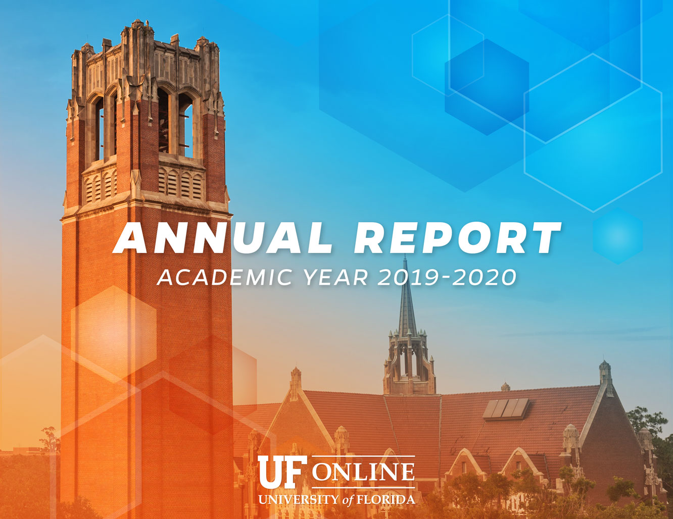 UF Online Cover of the UFO 2019-2020 Annual Report